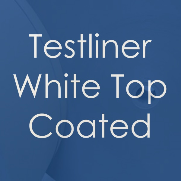 White Top Testliner coated